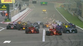 2018 Bahrain Grand Prix: Race Highlights