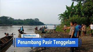 Penambang Pasir Tenggelam di Sungai Serayu Cilacap
