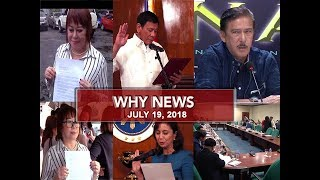 UNTV: Why News (July 19, 2018)