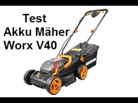 WORX 40V Akku-Rasenmäher WG779E Test * Wissen für alle