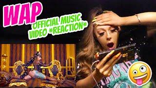 Cardi B - WAP feat. Meg Thee Stallion (Official Music Video) REACTION