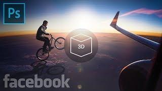 Create Facebook 3D Photos in Photoshop!