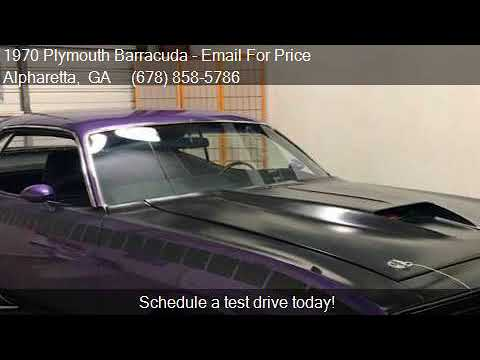 Video of '70 Barracuda - PZC6