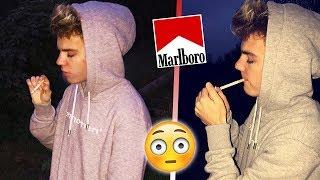 Zigarette RAUCHEN  - Experiment vor Zuschauern 😱
