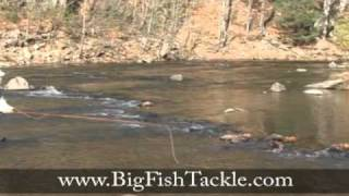 Fish a hopper pattern fly fishing