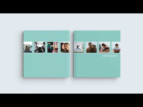 Inspiration for Your Photo Book Cover – 'Friends forever'
