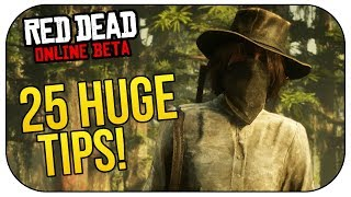 Red Dead Online: 25 MUST KNOW Helpful Tips & Tricks!