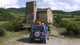 preview picture of video 'Pyrenees 2012 Jimny Road Book Vibraction'