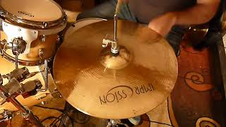 """impression 14"""" x-hard hi hats & double A thin maple drums"""