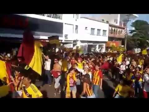 """""""MARCHA CARNAVAL 60 AÑOS"""" Barra: Revolución Vinotinto Sur • Club: Tolima"""