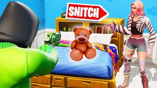 SNITCH The TEDDYBEAR In PROP HIDE AND SEEK! (Fortnite)