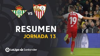 Highlights Real Betis vs Sevilla FC (1-2)