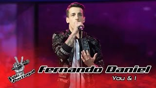 Fernando Daniel - You & I (John Legend) | Gala | The Voice Portugal