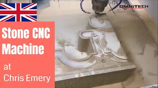 Corbel Travertine Engraving |Chris Emery from UK |  OMNI Happy CNC Router User