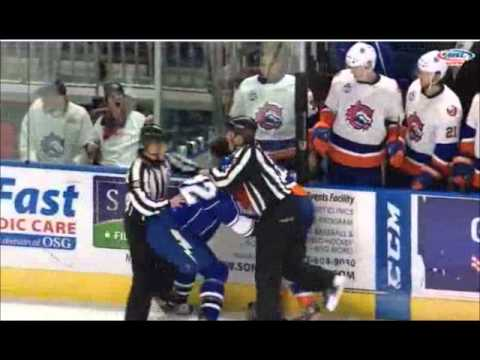 Pierre-Cedric Labrie vs Anders Lee