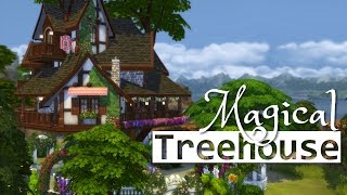 The Sims 4 | House Building - Magical Treehouse ✧˖°