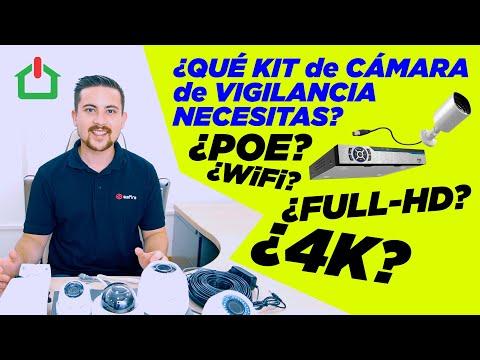 🔍¿Qué kit de cámaras de vigilancia necesitas? 📹📹📹✔️