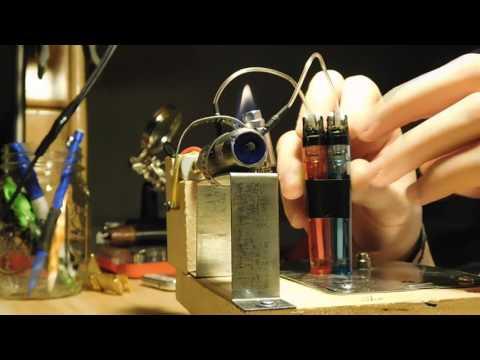 Homemade Motor Jet Engine