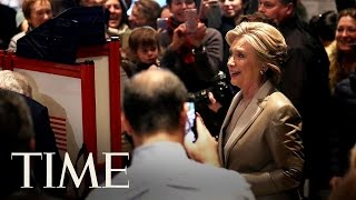 Hillary Clinton Casts Her Vote For 2016 President | TIME