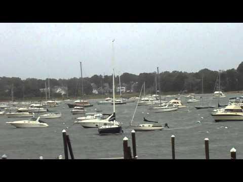 Dramatic Sailboat Rescue Winthrop (Mass) Yacht Club