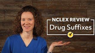 Drug Suffixes   NCLEX Review (2019)