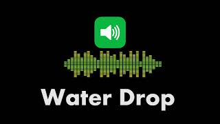 free sound effects water drop - TH-Clip