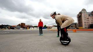 Test Av Stjåhjulingen Airwheel