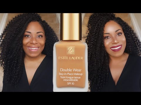 First Impression: Estee Lauder Double Wear Stay-In-Place Makeup| Dry Skin Foundation Review