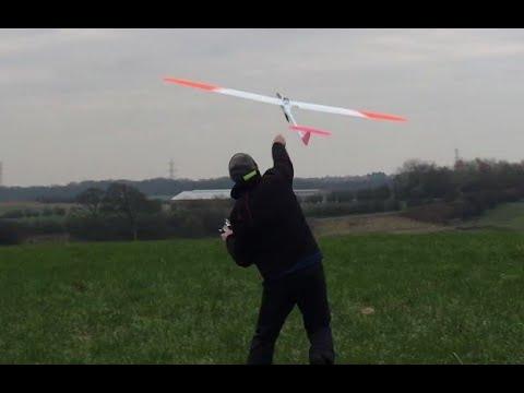 Fast RC glider, F5B Avionik B08 with a $25 motor - Free video search