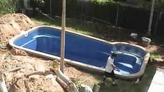 Fibreglass Pool Installation
