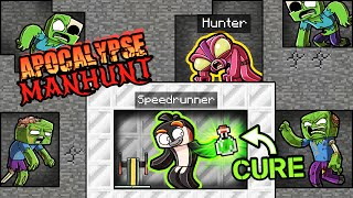 Manhunt Zombie APOCALYPSE! (Minecraft)