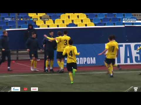 "ЮФЛ 2019-20: ""Строгино"" U-17 - ""Зенит"" (СПб) - 1:0 / Обзор"