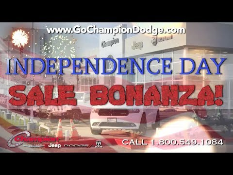 2017 DODGE & JEEP - July 4th Sale - Los Angeles, Cerritos, Downey CA - RAM & CHRYSLER - Independence Day Event