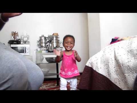 FUN WITH FAFI - Baby Fafi learns to run