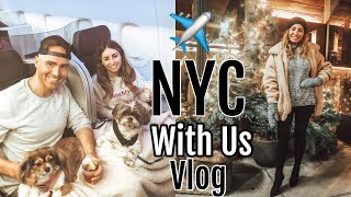 TRAVEL VLOG: Fly to NYC with us!