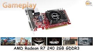 AMD Radeon R7 240 2GB GDDR3: gameplay в 17 популярных играх