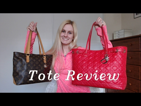 Tote Reviews! Dior Panarea & LV Cabas Piano ft. Neverfull MM
