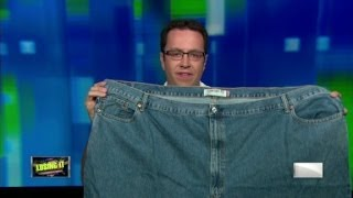 """Jared Fogle and his """"fat jeans"""""""