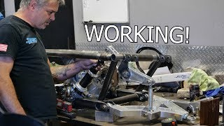 We have Working Rear SHOCKS in the 4 Rotor! | AWD 4 Rotor Build
