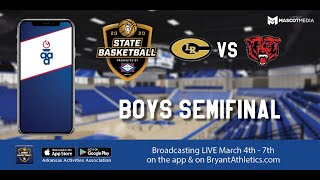 2020 Arkansas 6A State Tournament - Boys Semifinal: Northside vs. Central - 2/7/20
