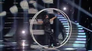 Rewelacyjny pokaz akrobatyczny na kole w programie Mam Talent!