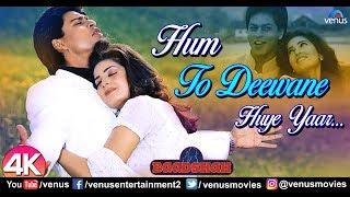 Hum To Deewane Huye - 4K Video | Shah Rukh Khan & Twinkle Khanna | Baadshah | 90's Hit Romantic Song