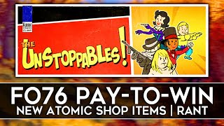 Bethesda Added PAY TO WIN to Fallout 76 Atomic Shop!