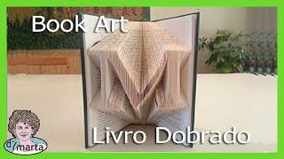 Folded Book Art Using Photoshop. Arte Feito De Paginas Dobradas.