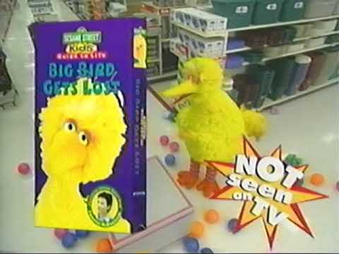 Closing Preview's Of Sesame Street The Great Numbers Game 1998 VHS