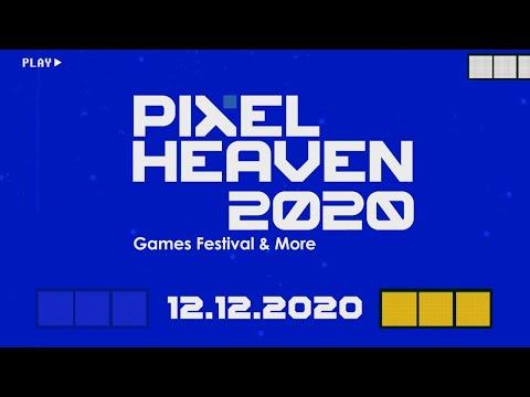 PIXEL HEAVEN 2020 GAMES FESTIVAL & MORE 12,12,2020