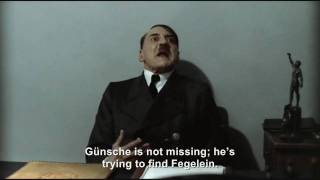 Hitler is informed Günsche is missing