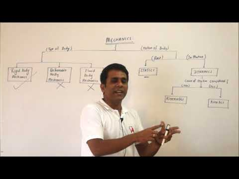 Lecture 1: Introduction to Engineering Mechanics
