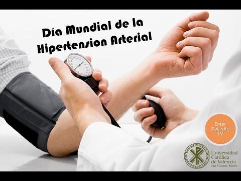 La presión arterial en la hipertensión