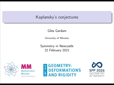 To cheer you up in difficult times 21: Giles Gardam lecture and new result on Kaplansky's conjectures